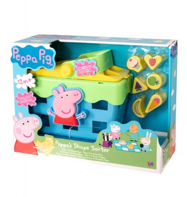 PEPPA SHAPE SORTER PICNIC SET