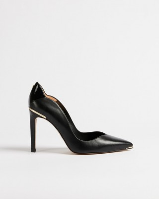 ΓΟΒΕΣ DAYSIIP SCALLOPED BACK HIGH HEEL COURT