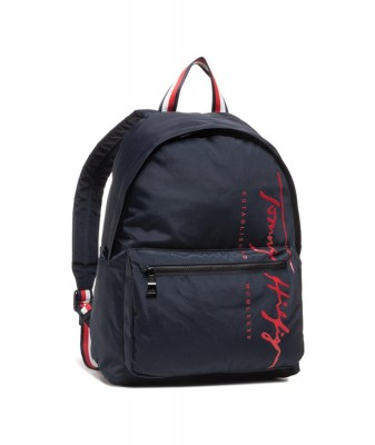 TOMMY HILFIGER TH SIGNATURE BACKPACK SKY CAPTAIN